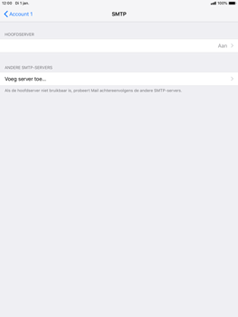 Apple ipad-mini-5-7-9-inch-2019-model-a2124 - E-mail - Handmatig instellen - Stap 18
