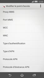 Sony Xperia Z2 - Internet et roaming de données - Configuration manuelle - Étape 12