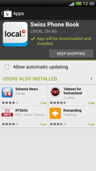 HTC One S - Applications - Installing applications - Step 10