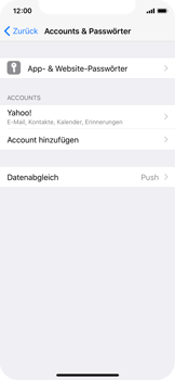Apple iPhone X - E-Mail - Konto einrichten (yahoo) - 9 / 11