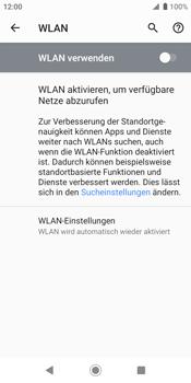 Sony Xperia XZ2 - Android Pie - WLAN - Manuelle Konfiguration - Schritt 6