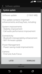 HTC One M8 - Software - Installing software updates - Step 8
