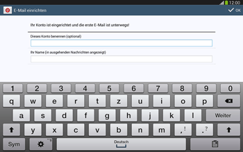 Samsung Galaxy Tab 3 10-1 LTE - E-Mail - Konto einrichten - 0 / 0