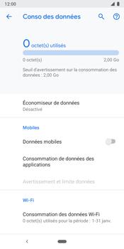 Google Pixel 3 - Internet et connexion - Désactiver la connexion Internet - Étape 7