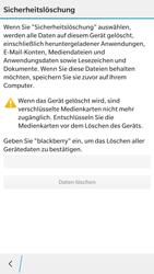 BlackBerry Leap - Fehlerbehebung - Handy zurücksetzen - 1 / 1