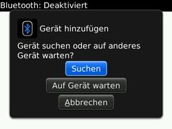 BlackBerry Bold - Bluetooth - Geräte koppeln - 7 / 11