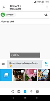 Alcatel 3L - Contact, Appels, SMS/MMS - Envoyer un MMS - Étape 16
