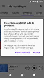 Sony Xperia XA2 - Photos, vidéos, musique - Ecouter de la musique - Étape 8