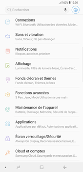 Samsung Galaxy S8 Plus - Android Oreo - Réseau - Sélection manuelle du réseau - Étape 4