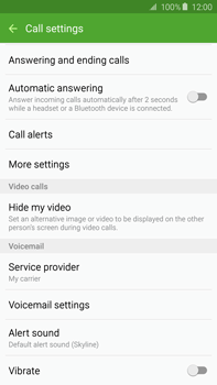 Samsung N920 Galaxy Note 5 - Voicemail - Manual configuration - Step 6