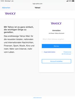 Apple iPad Mini 4 - ipados 13 - E-Mail - 032b. Email wizard - Yahoo - Schritt 6