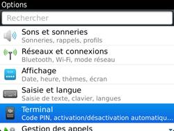 BlackBerry 9900 Bold Touch - BlackBerry activation - BlackBerry ID activation - Étape 4