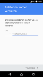 Sony Sony Xperia E5 - apps - account instellen - stap 7