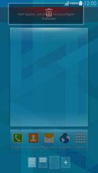 Samsung G850F Galaxy Alpha - Startanleitung - Installieren von Widgets und Apps auf der Startseite - Schritt 8