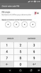 HTC Desire 530 - Sécuriser votre mobile - Activer le code de verrouillage - Étape 8