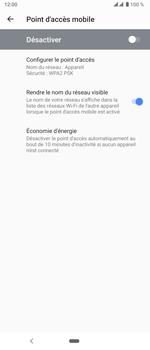 Sony Xperia 5 - WiFi - Comment activer un point d'accès WiFi - Étape 7