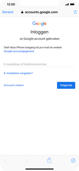 Apple iPhone XS Max - E-mail - handmatig instellen (gmail) - Stap 6