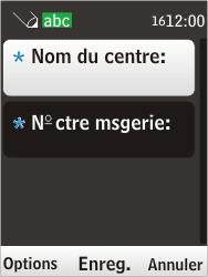 Nokia 6303i classic - SMS - Configuration manuelle - Étape 8