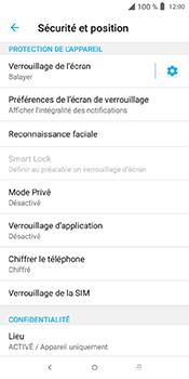Alcatel 3L - Sécuriser votre mobile - Personnaliser le code PIN de votre carte SIM - Étape 5