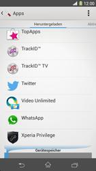 Sony Xperia Z1 - Apps - Eine App deinstallieren - Schritt 5