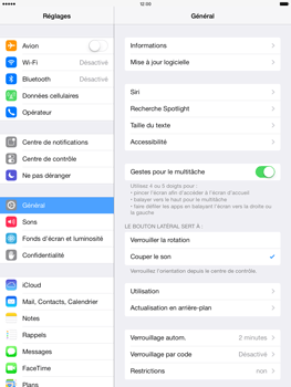 Apple iPad Air - Applications - Comment désinstaller une application - Étape 3