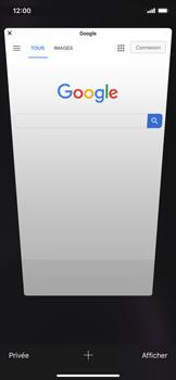 Apple iPhone XR - Internet et roaming de données - Navigation sur Internet - Étape 12