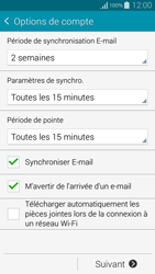 Samsung G850F Galaxy Alpha - E-mail - Configuration manuelle - Étape 18