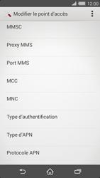 Sony Xperia Z2 - MMS - Configuration manuelle - Étape 12