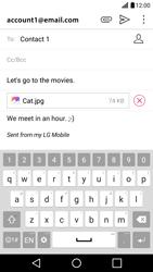 LG LG G5 - E-mail - Sending emails - Step 18