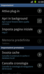 Samsung Galaxy S Advance - Internet e roaming dati - Configurazione manuale - Fase 21