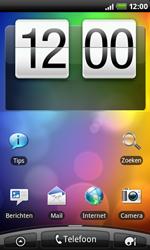 HTC A7272 Desire Z - e-mail - handmatig instellen - stap 1