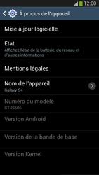 Samsung I9505 Galaxy S IV LTE - Appareil - Mises à jour - Étape 7