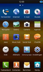 Samsung S8600 Wave 3 - internet - hoe te internetten - stap 2