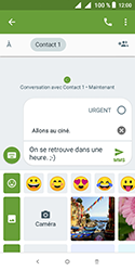 Alcatel 1 - Contact, Appels, SMS/MMS - Envoyer un MMS - Étape 13