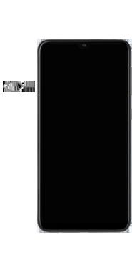 Samsung Galaxy A10 - Toestel - simkaart plaatsen - Stap 2