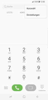 Samsung Galaxy S8 - Anrufe - Rufumleitungen setzen und löschen - Schritt 6