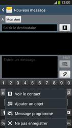 Samsung Galaxy S4 - Contact, Appels, SMS/MMS - Envoyer un MMS - Étape 10