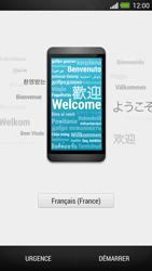 HTC One - Premiers pas - Créer un compte - Étape 2