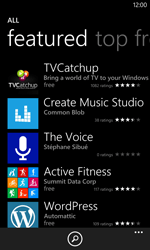 Nokia Lumia 1020 - Applications - Installing applications - Step 12