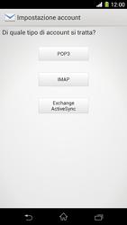 Sony Xperia Z1 Compact - E-mail - configurazione manuale - Fase 7