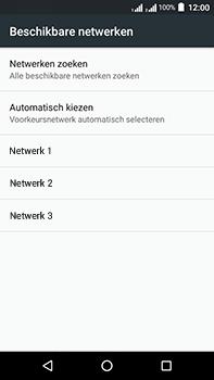 Acer Liquid Zest 4G Plus DualSim - Netwerk - Handmatig een netwerk selecteren - Stap 9