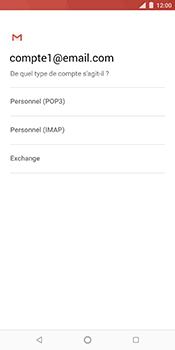 Nokia 7 Plus - E-mail - Configurer l