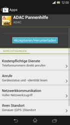 Sony Xperia Z - Apps - Herunterladen - 1 / 1
