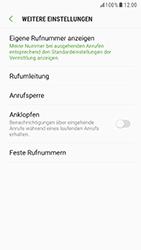 Samsung Galaxy S6 (G920F) - Android Nougat - Anrufe - Rufumleitungen setzen und löschen - Schritt 7