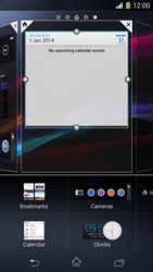 Sony Xperia Z1 Compact - Getting started - Installing widgets and applications on your start screen - Step 7