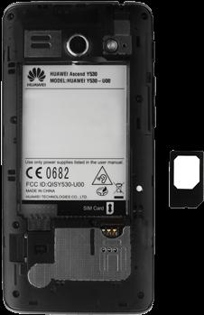 Huawei Ascend Y530 - SIM-Karte - Einlegen - 7 / 13