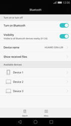 Huawei Ascend P8 - Bluetooth - Connecting devices - Step 5