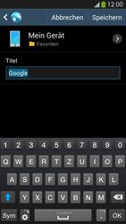 Samsung Galaxy S 4 LTE - Internet und Datenroaming - Verwenden des Internets - Schritt 8