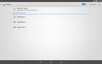 Sony Xperia Tablet Z2 LTE - Bluetooth - Collegamento dei dispositivi - Fase 6