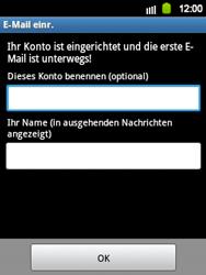 Samsung Galaxy Y - E-Mail - Manuelle Konfiguration - Schritt 15